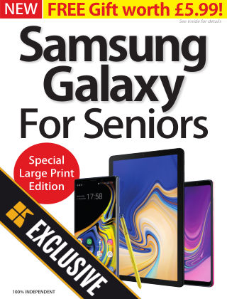 Samsung Galaxy For Seniors Readly Exclusive Samsung SENIORS2019