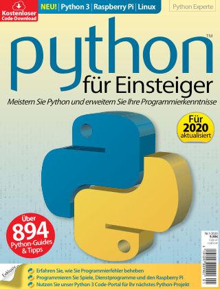 Python für Einsteiger Nr.1/2020