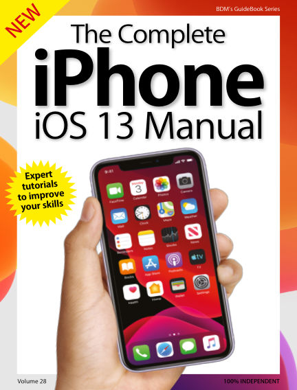 The Complete iPhone iOS 13 Manual September 19, 2019 00:00