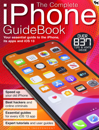 The iOS 13 iPhone GuideBook  Aug 2020