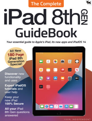 iPad 8th Gen - The Complete GuideBook Mar 2021