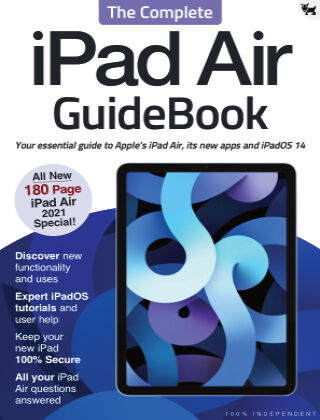 iPad Air - The Complete GuideBook Mar 2021
