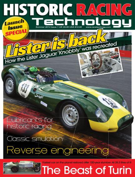 HISTORIC RACING TECHNOLOGY magazine July 31, 2014 00:00