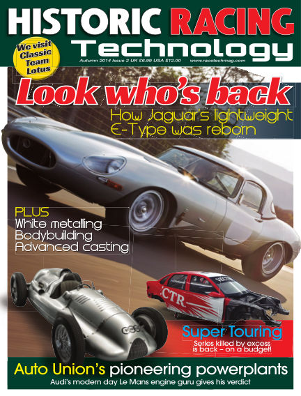 HISTORIC RACING TECHNOLOGY magazine November 30, 2014 00:00