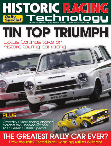 HISTORIC RACING TECHNOLOGY magazine January 31, 2015 00:00