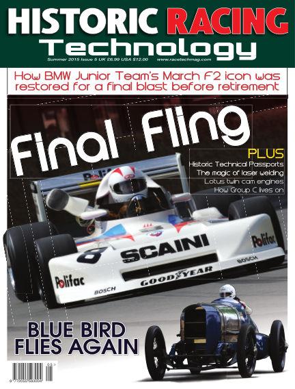HISTORIC RACING TECHNOLOGY magazine August 31, 2015 00:00