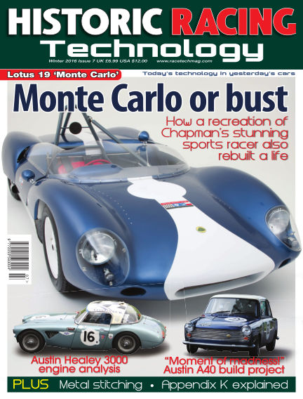 HISTORIC RACING TECHNOLOGY magazine January 31, 2016 00:00