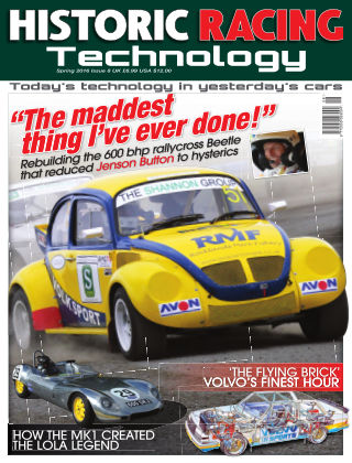 HISTORIC RACING TECHNOLOGY magazine 08