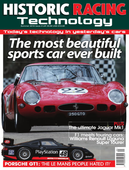 HISTORIC RACING TECHNOLOGY magazine August 31, 2016 00:00