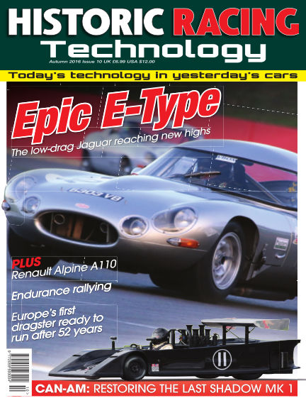HISTORIC RACING TECHNOLOGY magazine October 31, 2016 00:00