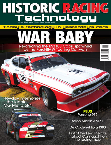 HISTORIC RACING TECHNOLOGY magazine January 31, 2017 00:00