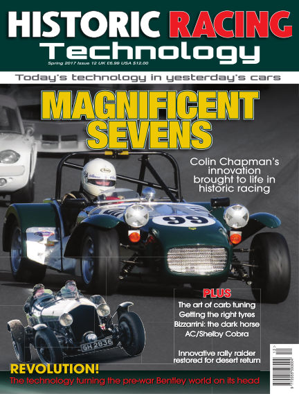 HISTORIC RACING TECHNOLOGY magazine June 30, 2017 00:00