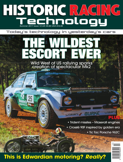 HISTORIC RACING TECHNOLOGY magazine September 30, 2017 00:00
