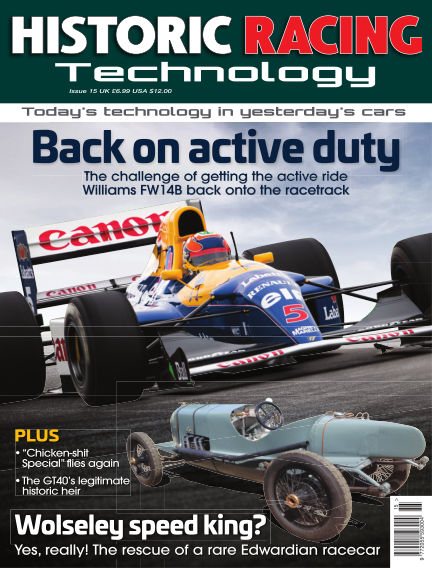 HISTORIC RACING TECHNOLOGY magazine March 31, 2018 00:00