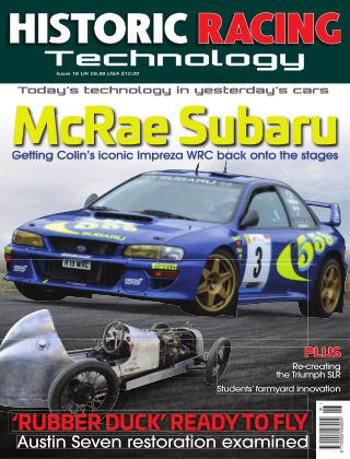 HISTORIC RACING TECHNOLOGY magazine 16