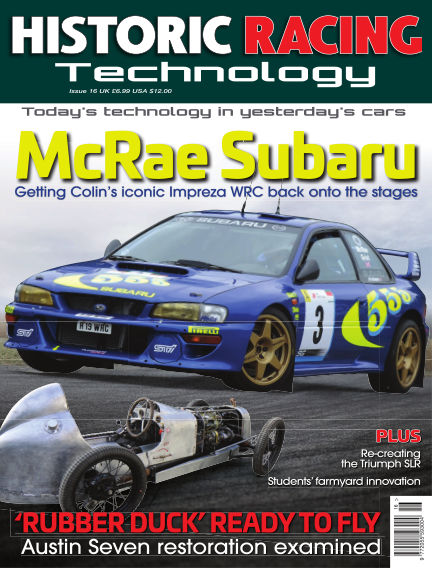 HISTORIC RACING TECHNOLOGY magazine May 31, 2018 00:00