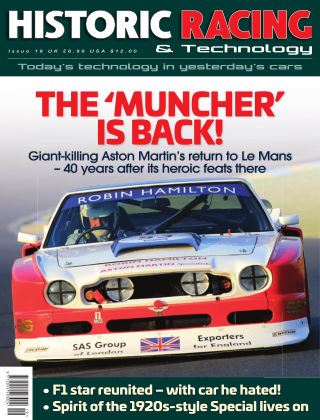 HISTORIC RACING TECHNOLOGY magazine Issue 19