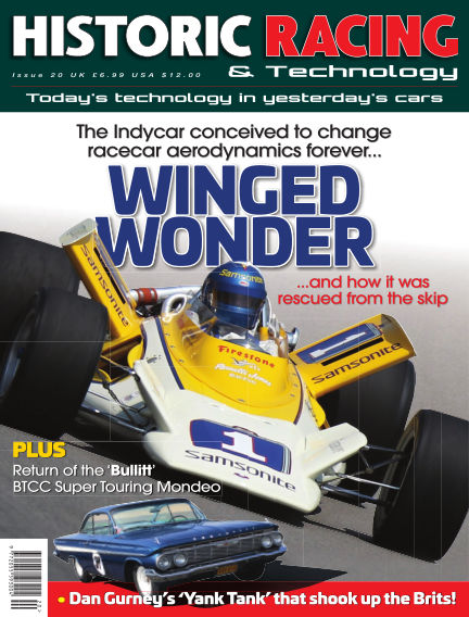 HISTORIC RACING TECHNOLOGY magazine February 28, 2019 00:00