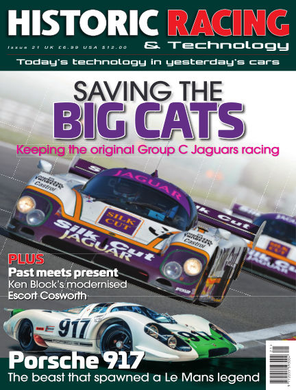 HISTORIC RACING TECHNOLOGY magazine July 09, 2019 00:00