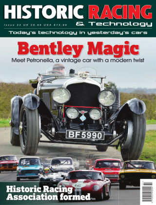 HISTORIC RACING TECHNOLOGY magazine 23