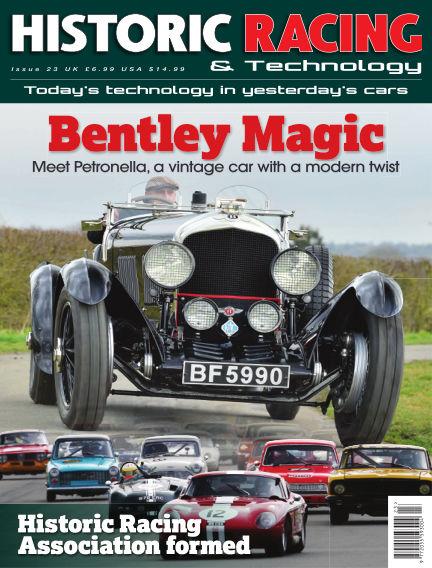 HISTORIC RACING TECHNOLOGY magazine September 09, 2019 00:00
