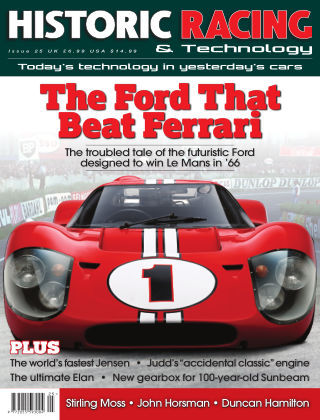 HISTORIC RACING TECHNOLOGY magazine Issue 25