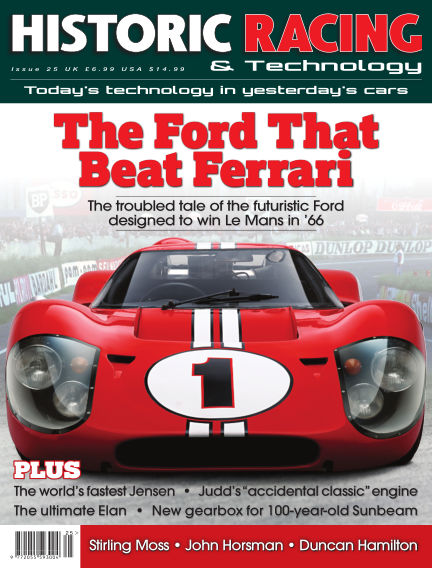 HISTORIC RACING TECHNOLOGY magazine