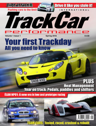 TRACKCAR PERFORMANCE magazine Issue 01