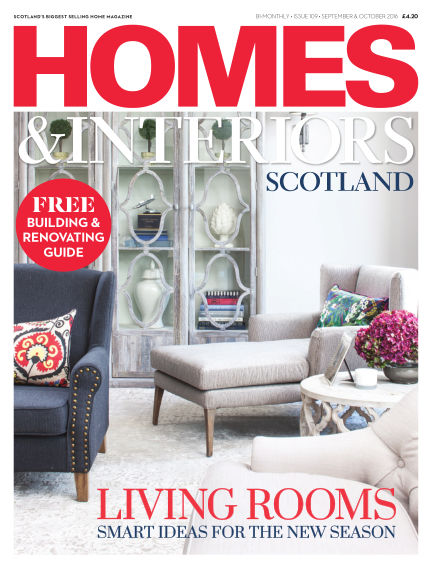 Homes & Interiors Scotland September 01, 2016 00:00