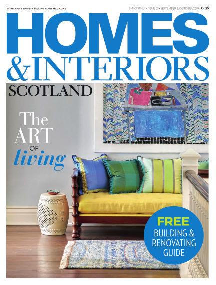 Homes & Interiors Scotland August 31, 2018 00:00