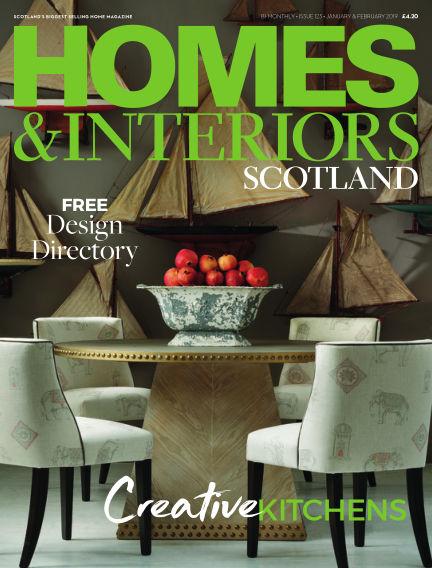 Homes & Interiors Scotland December 26, 2018 00:00