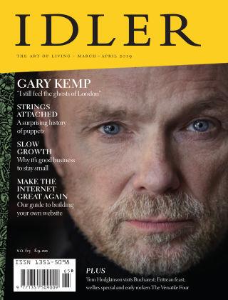 The Idler Mar Apr2019