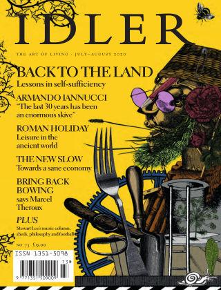 The Idler #73, Jul/Aug 2020