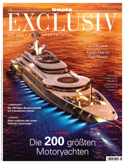 BOOTE EXCLUSIV August 28, 2020 00:00