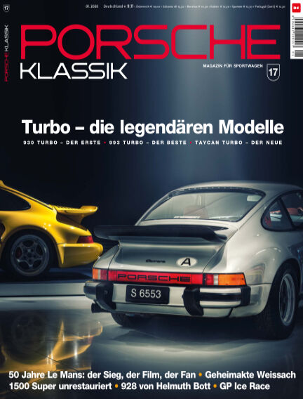 PORSCHE KLASSIK March 17, 2020 00:00