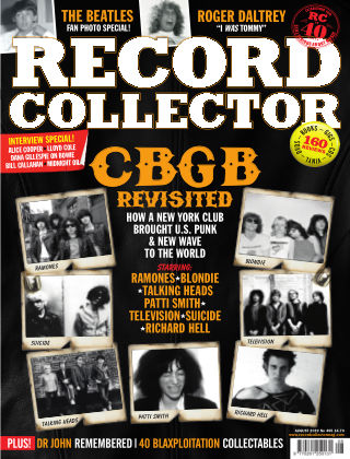 Record Collector August 2019