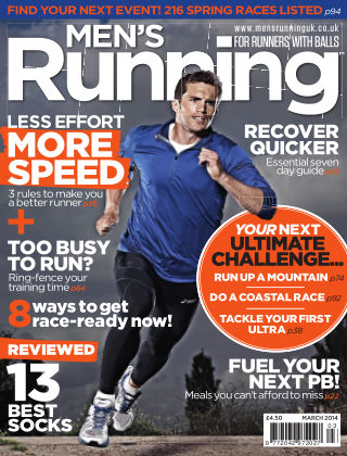 Men's Running March 2014