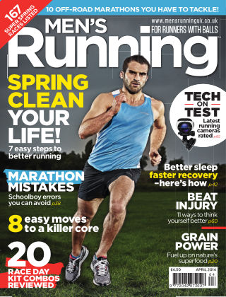 Men's Running April 2014