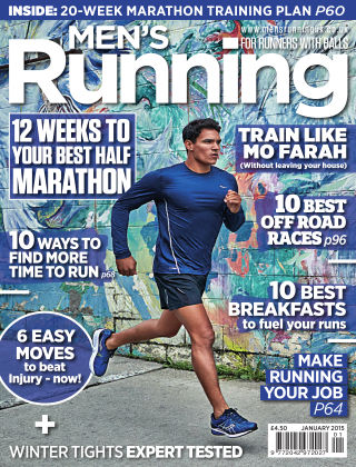 Men's Running January 2015