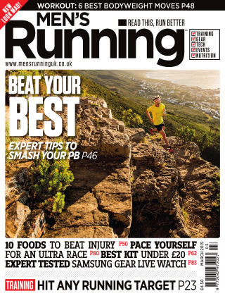 Men's Running March 2015