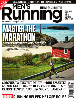 Men's Running April 2015