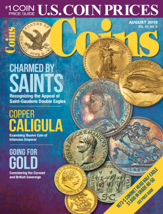 Coins Aug 2018