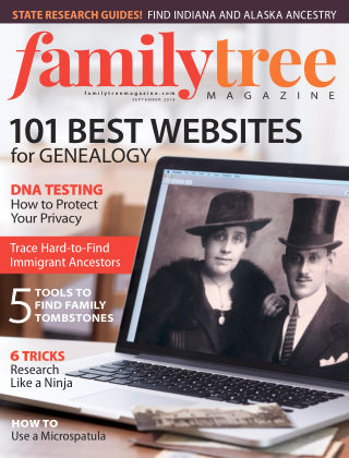 Family Tree Magazine Sep 2018