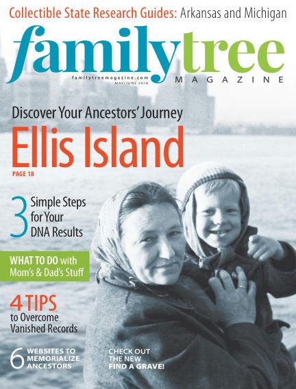 Family Tree Magazine April 05, 2018 00:00