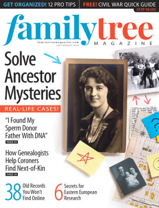 Family Tree Magazine Jul-Aug 2018