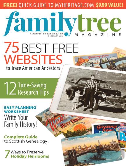 Family Tree Magazine November 01, 2018 00:00
