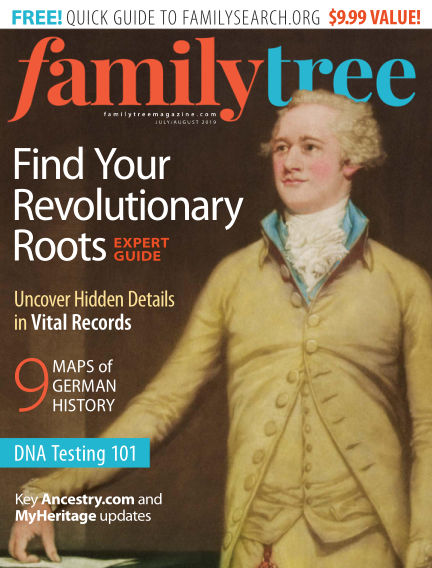 Family Tree Magazine May 29, 2019 00:00
