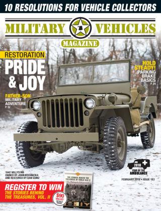 Military Vehicles Feb 2018