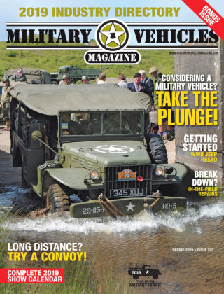 Military Vehicles Spring 2019