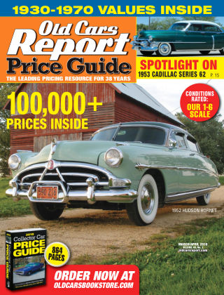 Old Cars Report Price Guide Mar-Apr 2018